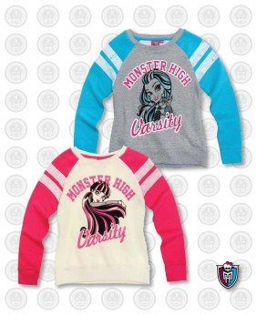 Sweat enfant fille Monster...