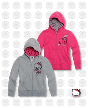Sweat fille Hello Kitty